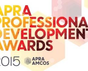 APRA 2015 awards logo