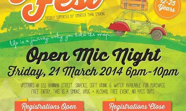 Youth Fest's Open Mic Night