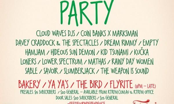 Radiothon Party 2014