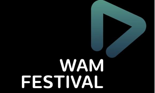 WAM Festival on black WAMplifier shape