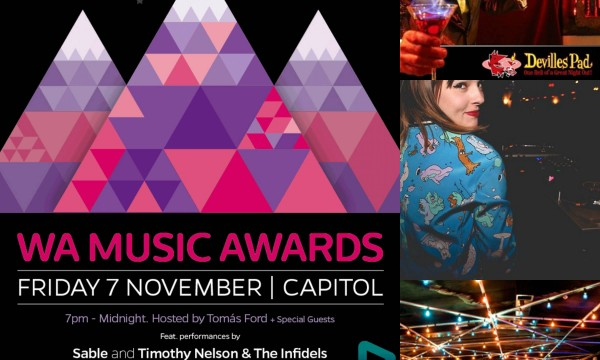 WAM FESTIVAL: WA Music Awards After Parties