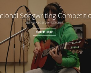 ACMF songwriting comp website screenshot