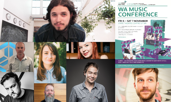 WA Music Conference Collage