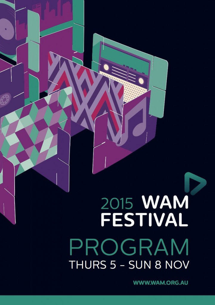 WAM Fest Program cover
