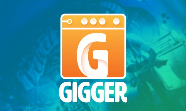 Gigger Logo on BG