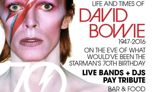 The Mind Warp Pavilion: David Bowie