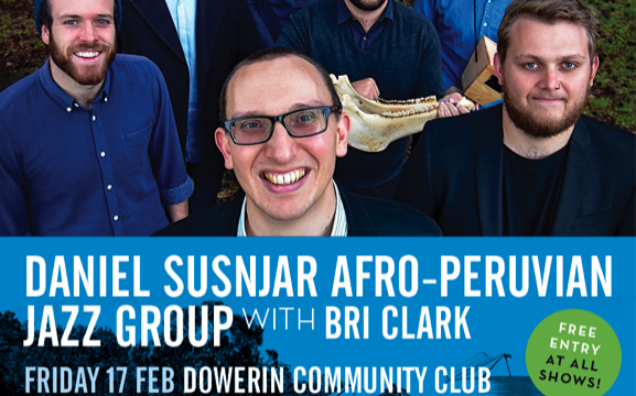 WHEATBELT TOURING CIRCUIT: TOUR 6 – Daniel Susnjar Afro-Peruvian Jazz Group, Bri Clark + more