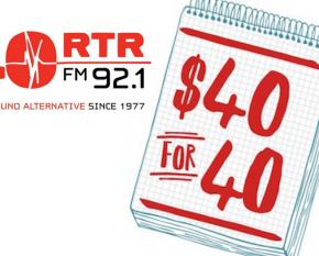 RTRFM 40 FOR 40