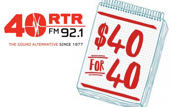 RTRFM 40 FOR 40