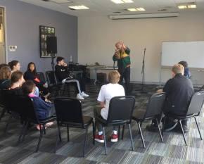 WAM& CoP Hip hop workshop with Mathas