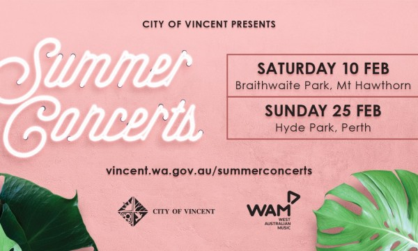 Summer Concerts at Braithwaite Park
