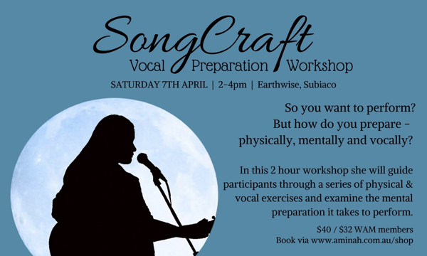 SongCraft: Vocal Preparation Workshop