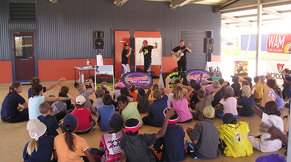 WAM Schools Program in Roebourne, 2006