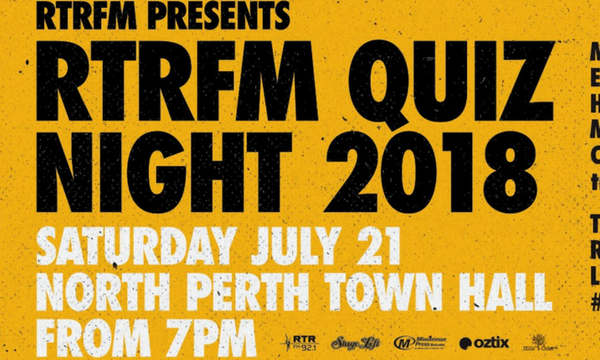 RTRFM's Quiz Night is back!