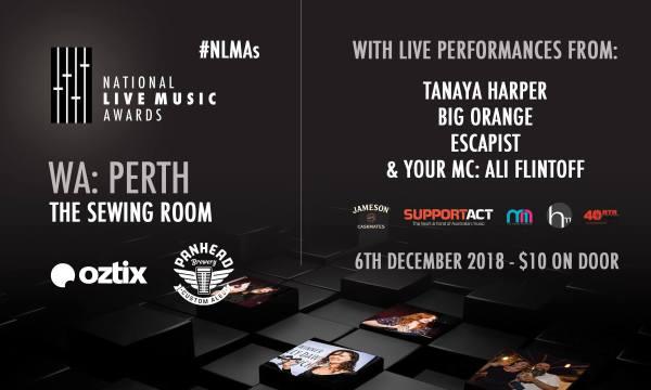 National Live Music Awards: Perth WA