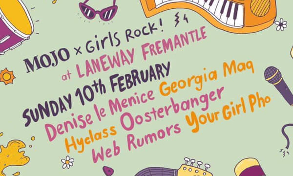 Girls Rock! Stage Announced for Laneway Fremantle