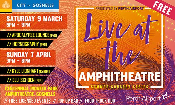 City of Gosnells presents Live at the Amphitheatre