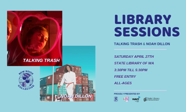 New Noise Collective's Library Sessions