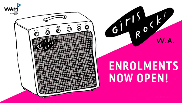 Girls Rock 2 Enrolment Mailchimp