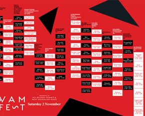 WAMFest timetable