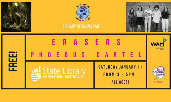 New Nosie Collective Library Sessions feat. Erasers & Pheobus Cartel