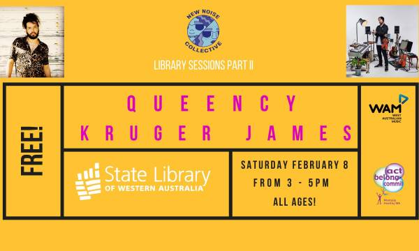 New Noise Collective Library Sessions feat. Kruger James & Queency