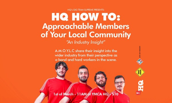 HQ HOW TO: Youth Industry Night w/ Approachable Members of Your Local Community