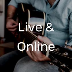 Live & Online Button