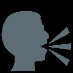 speaking head emoji