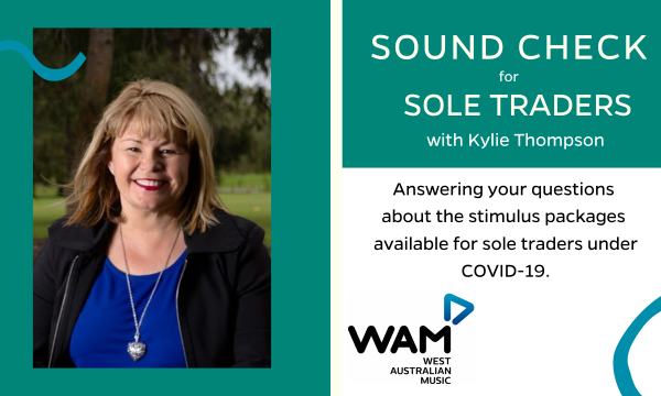 Sound Check for Sole Traders with Kylie Thompson