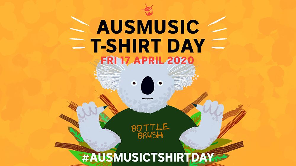 triple j ausmusic_t-shirt_day-April2020