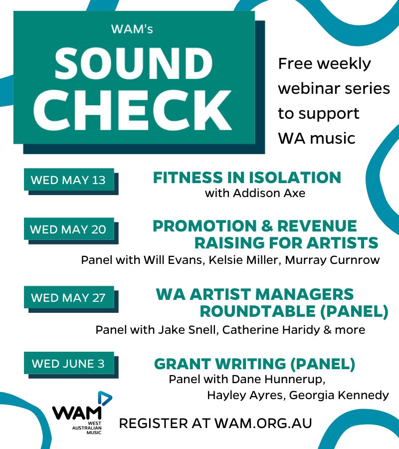 Sound Check. Webinar Comp