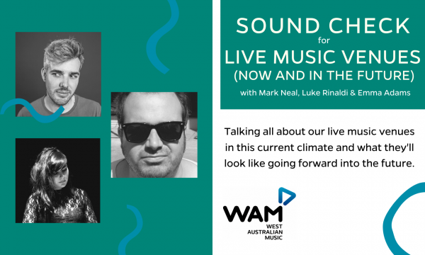Sound Check for Live Music Venues (Now and in the Future)
