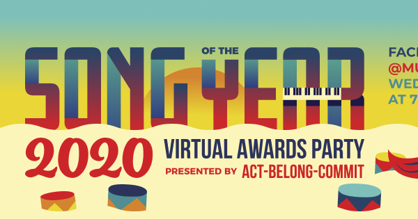 Song of the Year 2020 Virtual Awards Party!