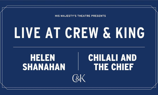 Live at Crew & King – Helen Shanahan & Chilali And The Chief
