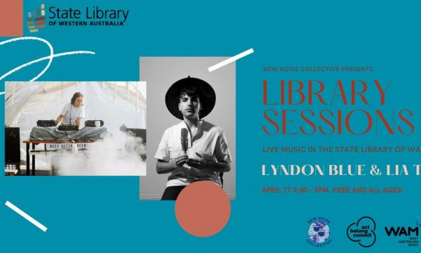 New Noise Collective Library Sessions | Lyndon Blue & Lia T