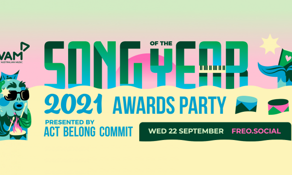 WAM Song of the Year Awards Party 2021 presented by Act Belong Commit