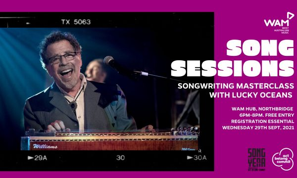 WAM Song Sessions w/ Lucky Oceans